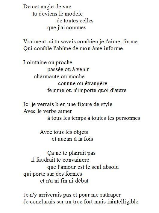 Formes U Poesis