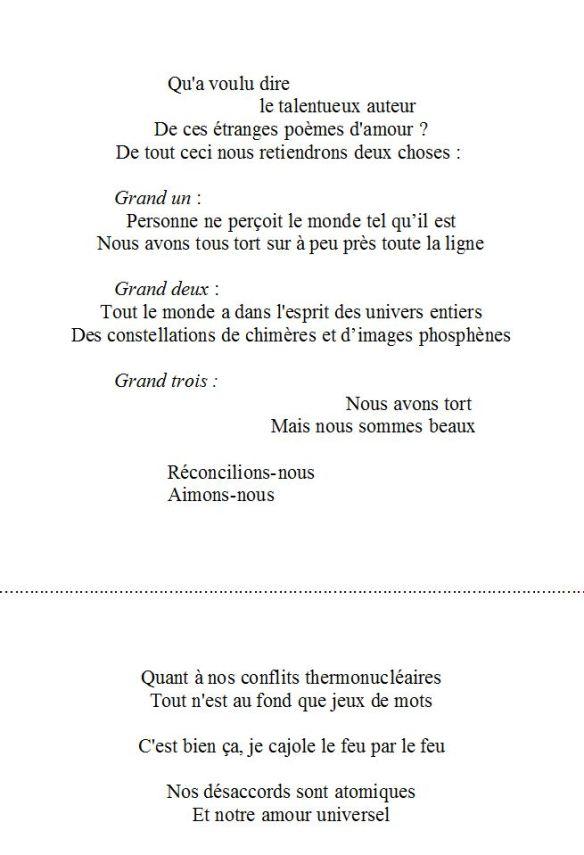 Trois Petits Poèmes Damour U Poesis