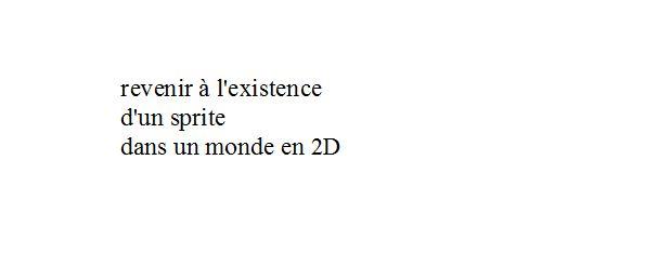 Limite extrême de l'existence 3