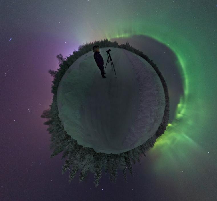 planete aurore boreale