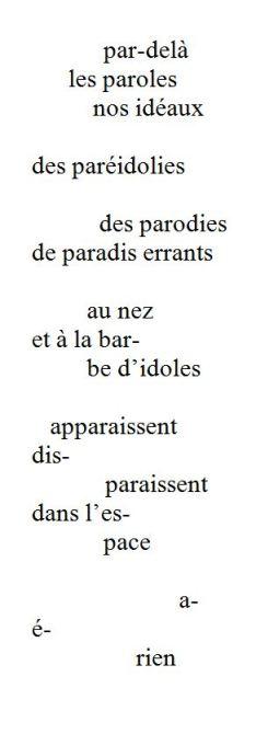 Paréidolies